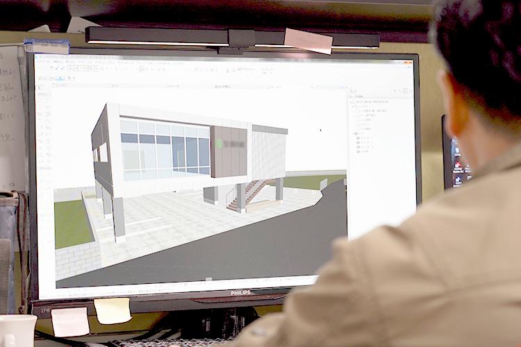完成イメージを共有できる最新3Dモデルを活用