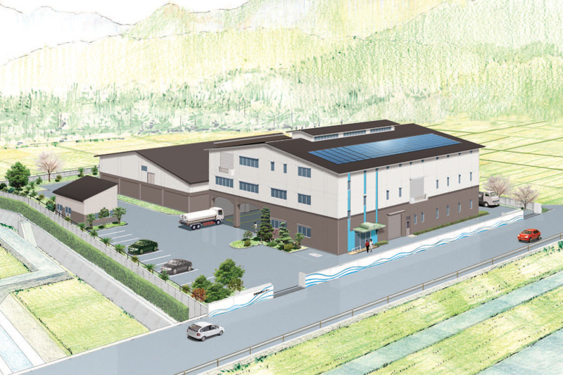 南薩地区 衛生管理組合 泥再生処理センター